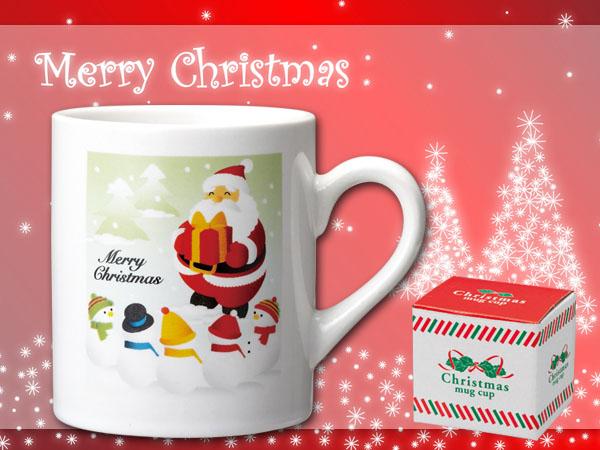 優しいクリスマスカップ説明イメージ