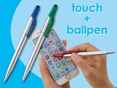 液晶タッチ&メタルボールペン