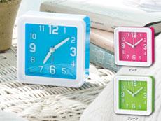 カラー置き時計
