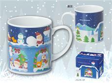 クリスマスプレゼントマグカップ