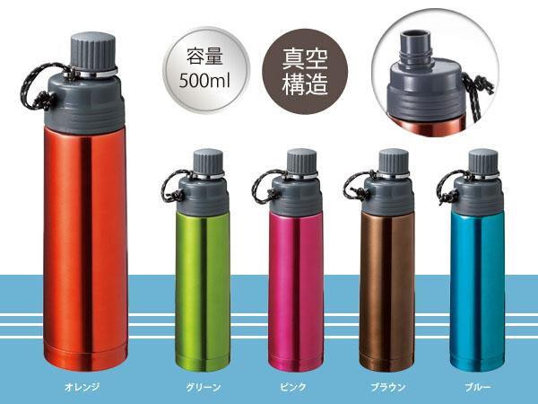 しっかり給水できる水筒説明イメージ