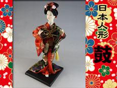 粗品用日本人形:鼓奏