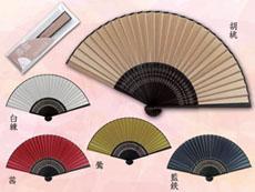 日本の色扇子